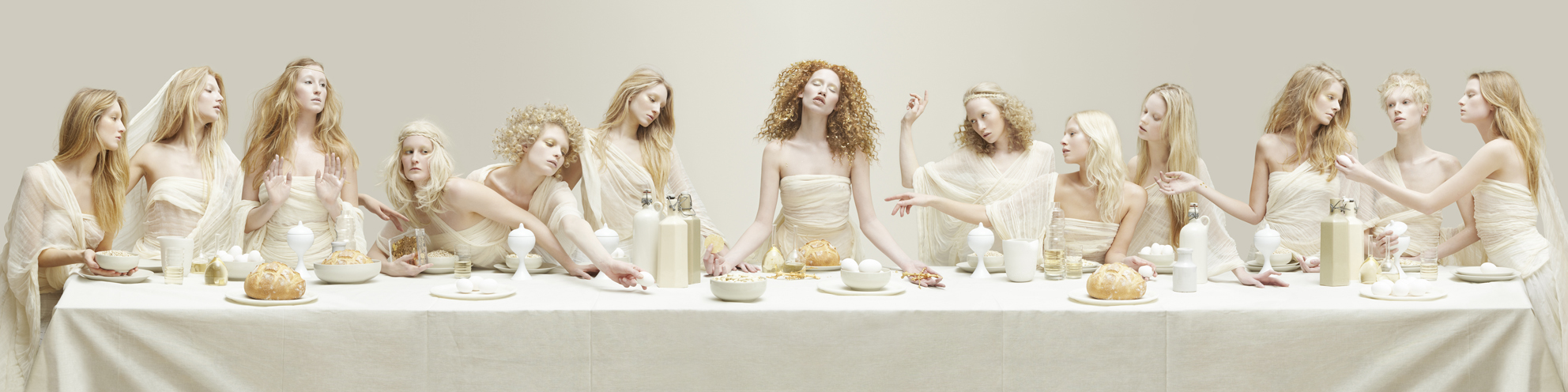BLOND LAST SUPPER